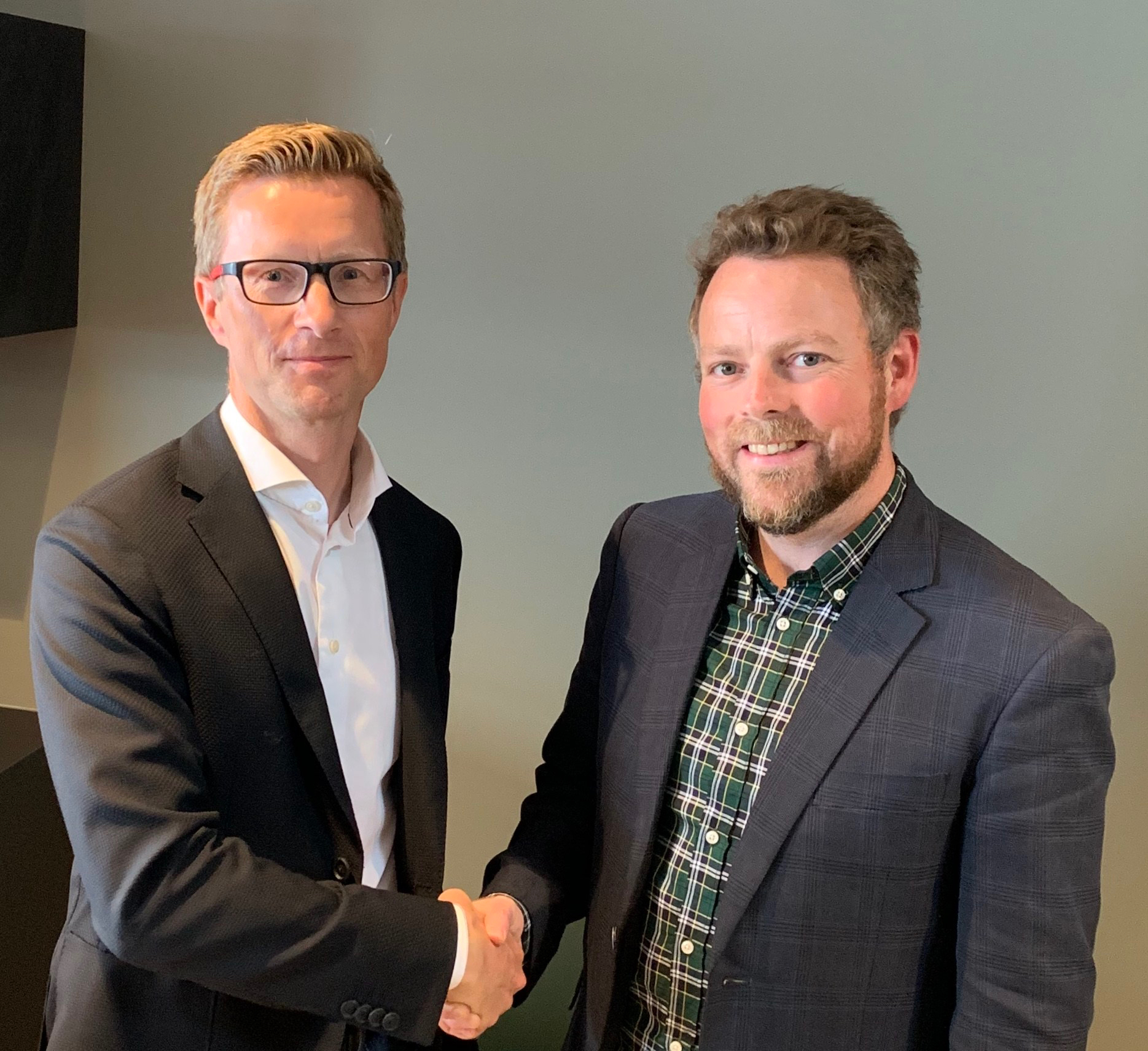 Torbjørn Røe Isaksen visits Vestkorn and CEO Aslak Lie